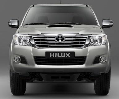 2013 Toyota Hi Lux vigo champ front