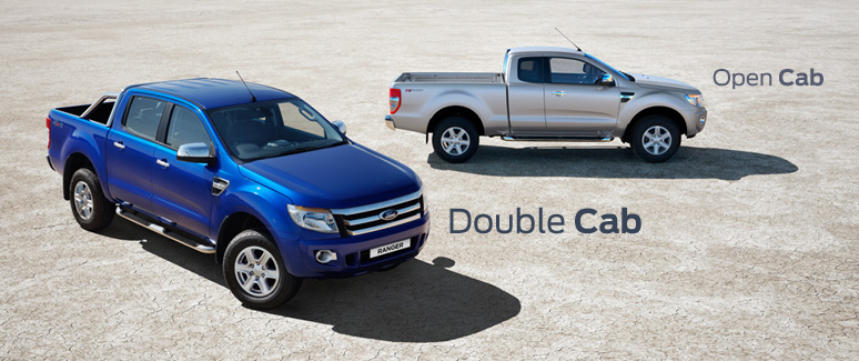 2012 Ford Ranger 2200 cc and 3200 cc now available in Single Extra Open and Double Cab at Thaialnd top pick-up truck dealer Jim