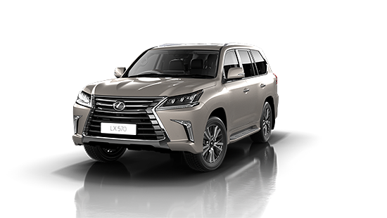 Lexus LX-570 in Metallic Silk