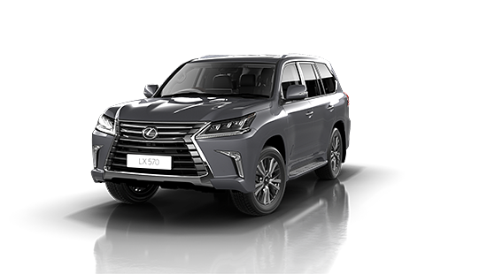 Lexus LX-570 in Mercury Grey