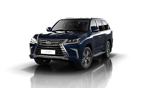 Lexus LX-570 in Deep Blue