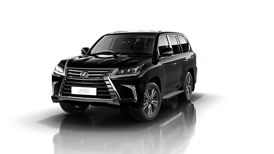 Lexus LX-570 in Starlight Black
