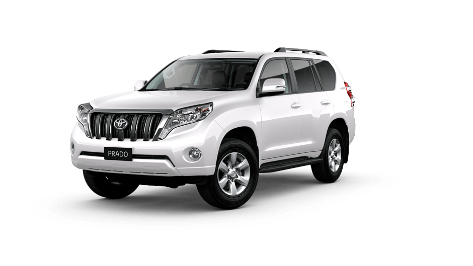 Toyota Land Cruiser Prado GXL in Graphite