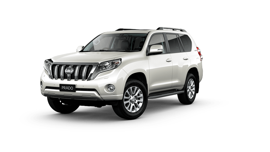 Toyota Land Cruiser Prado Kakadu in Crystal Pearl