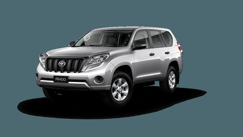Toyota Land Cruiser Prado GX in Silver Pearl
