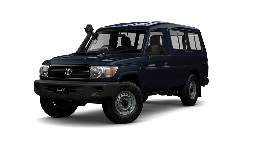 Toyota LandCruiser 70 Troop Carrier WorkMate in French Vanilla
