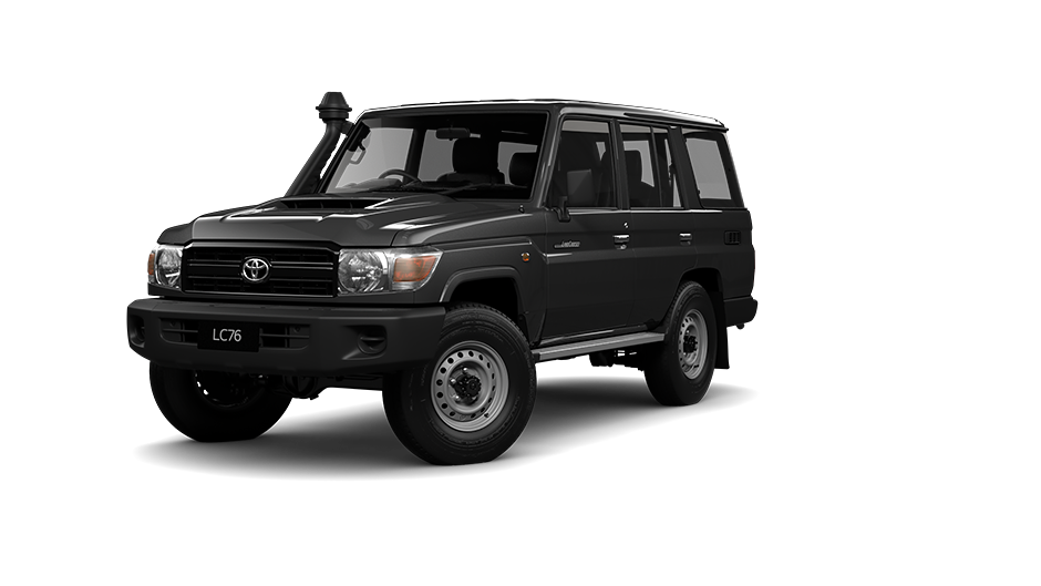 Toyota LandCruiser 70 Wagon WorkMate in Silver Pearl