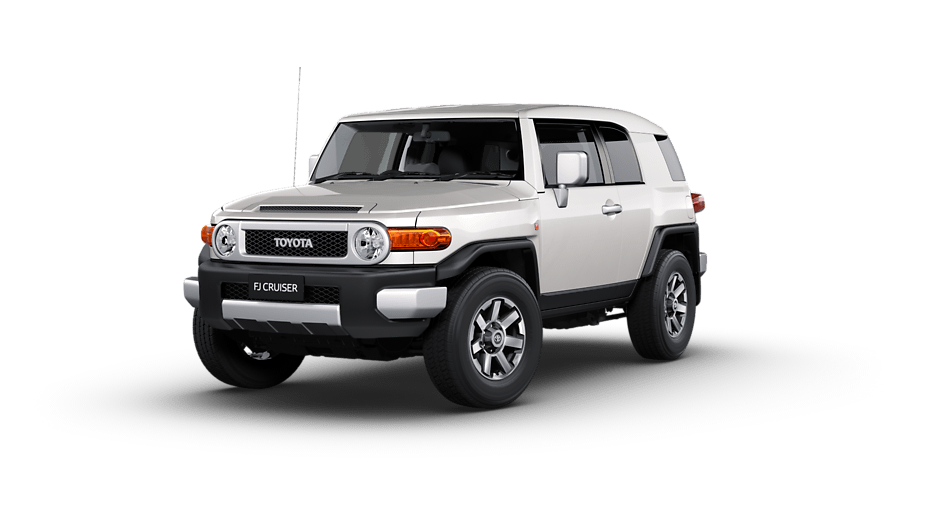 Toyota FJ Cruiser Australia RHD in French Vanilla