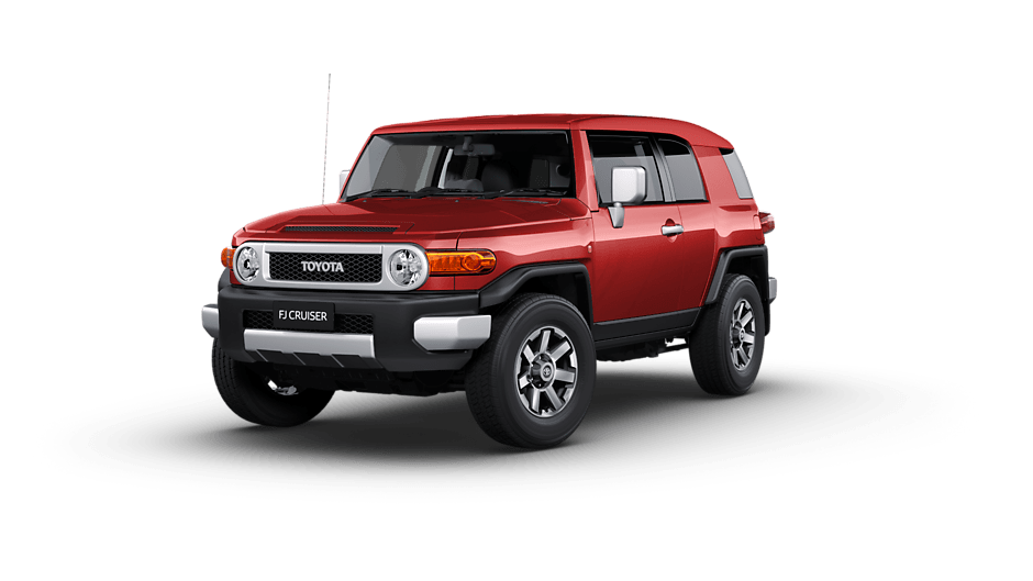 Toyota FJ Cruiser Australia RHD in Red Fury