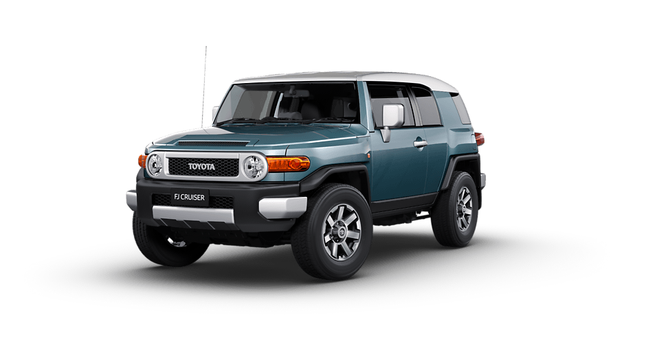 Toyota FJ Cruiser FJ Cruiser in Retro Blue