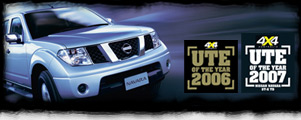 navara won the best 4x5 ute award 2 years in a row